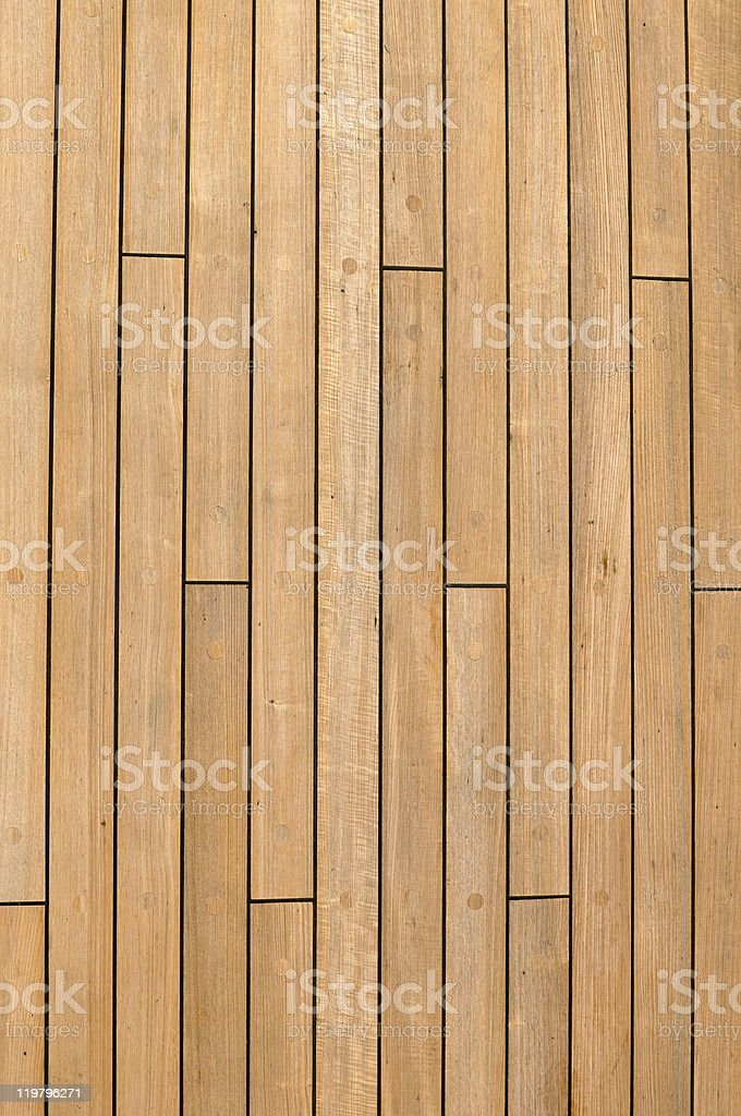 Wooden Ship Deck Background stock photo