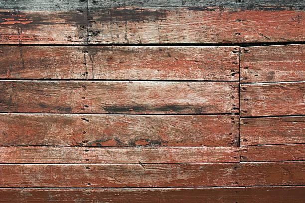 Wooden siding stock photo
