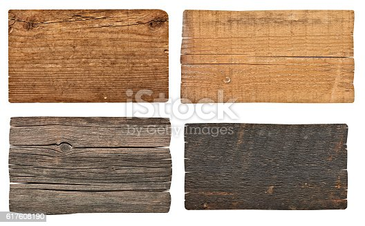 istock wooden sign background message 617608190