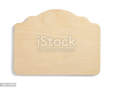 istock wooden sign board isolated on white 994129556