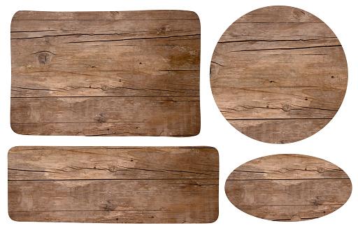 Wooden signes