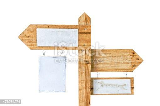 istock Wooden signpost 473964274