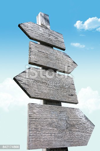 istock wooden signs 842174866