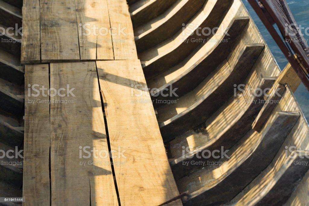 Hölzerne Skelett Struktur Der Asiatischen Boot Stock-Fotografie und ...