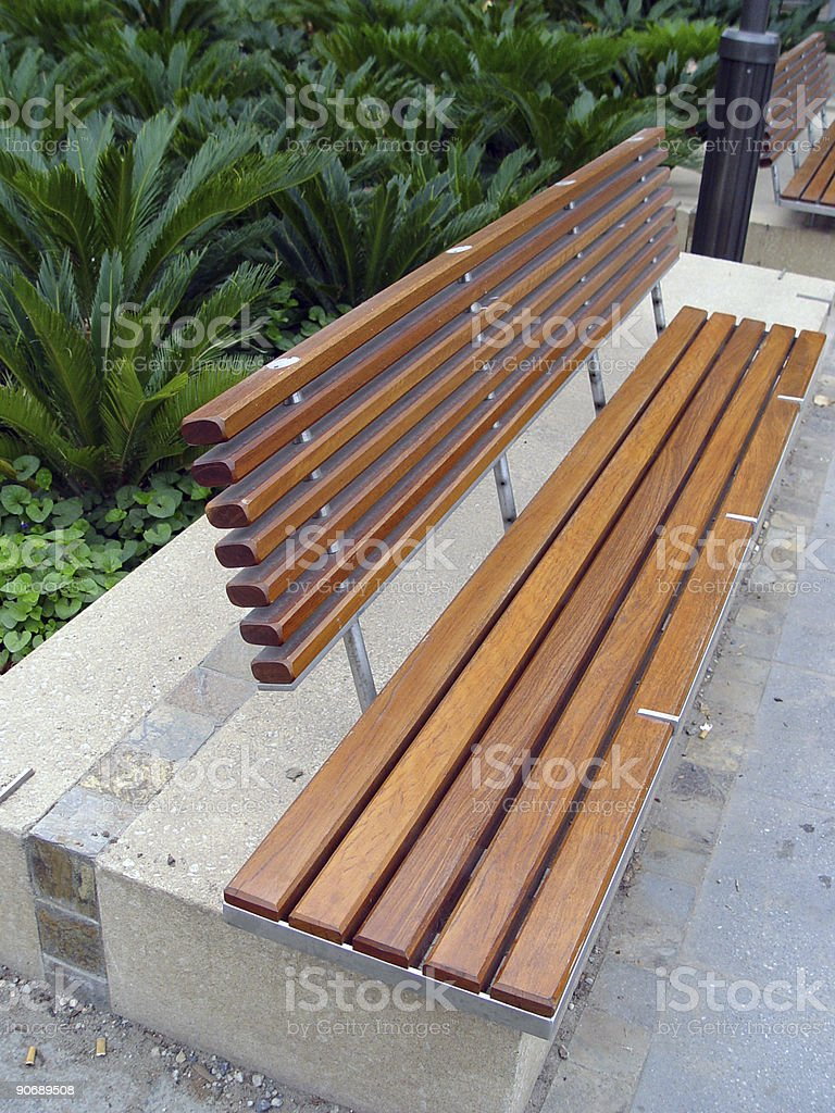 Astonishing Wooden Slat Bench Stock Photo Download Image Now Istock Creativecarmelina Interior Chair Design Creativecarmelinacom