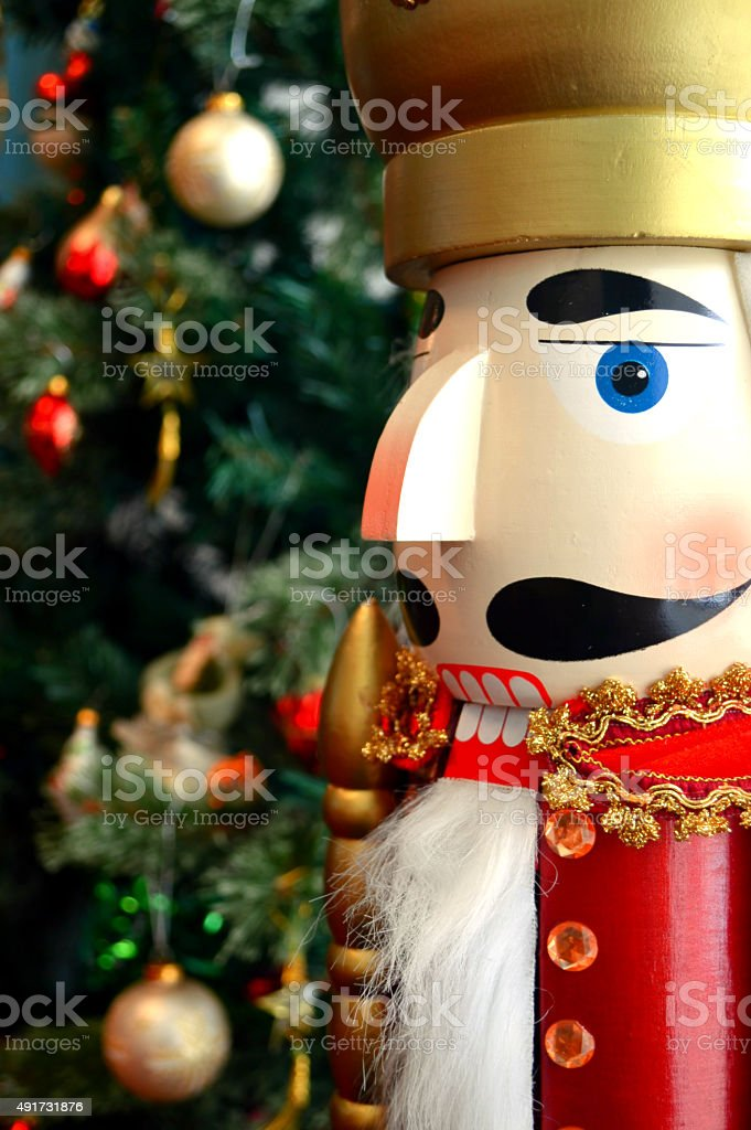 wooden soldier christmas decoration royalty free stock photo - Christmas Decorations Wooden Soldiers