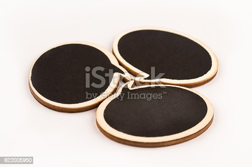 istock wooden speech bubbles next to each other 622005950