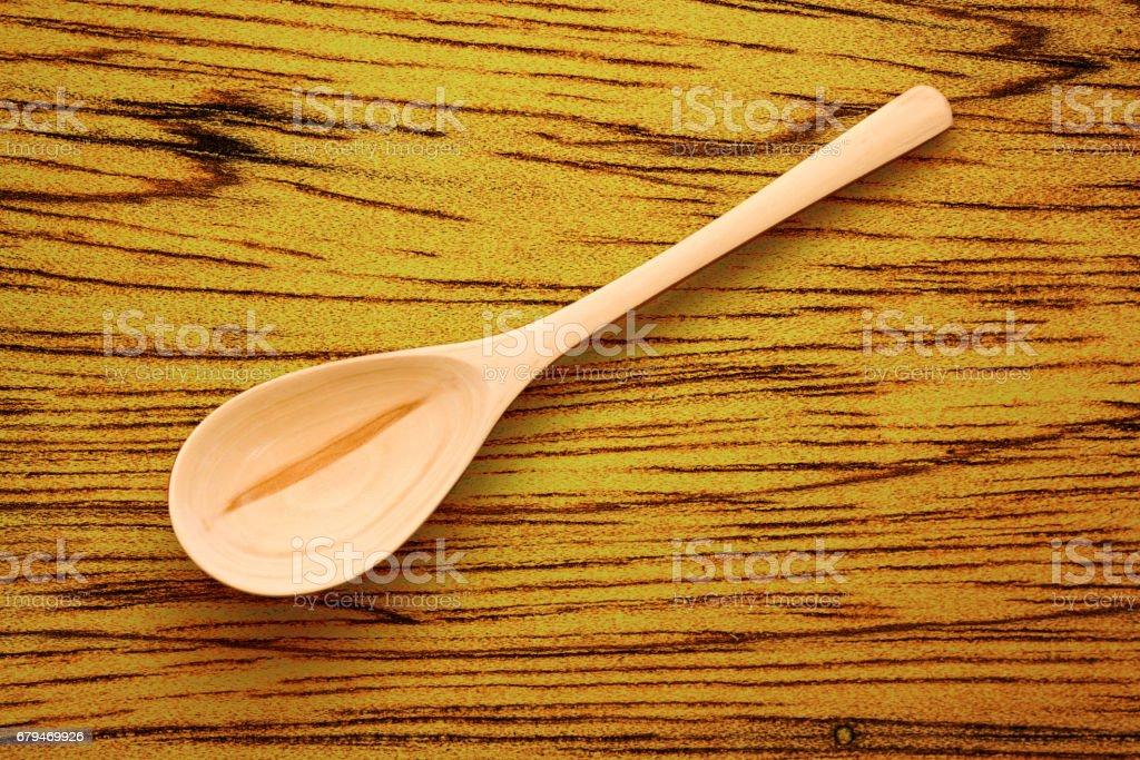 Wooden spoon 免版稅 stock photo
