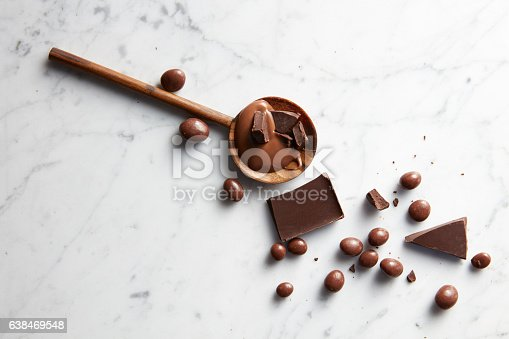 istock wooden spoon with chocolate 638469548