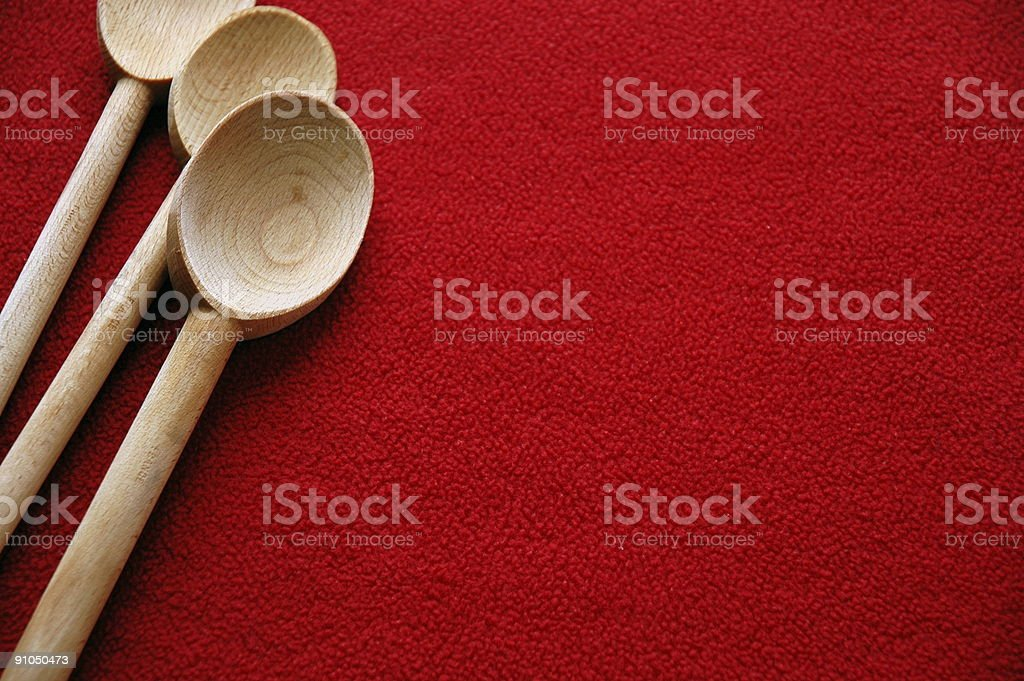 Wooden Spoons royalty-free stock photo