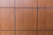 wooden square tile wall or floor for texture background.