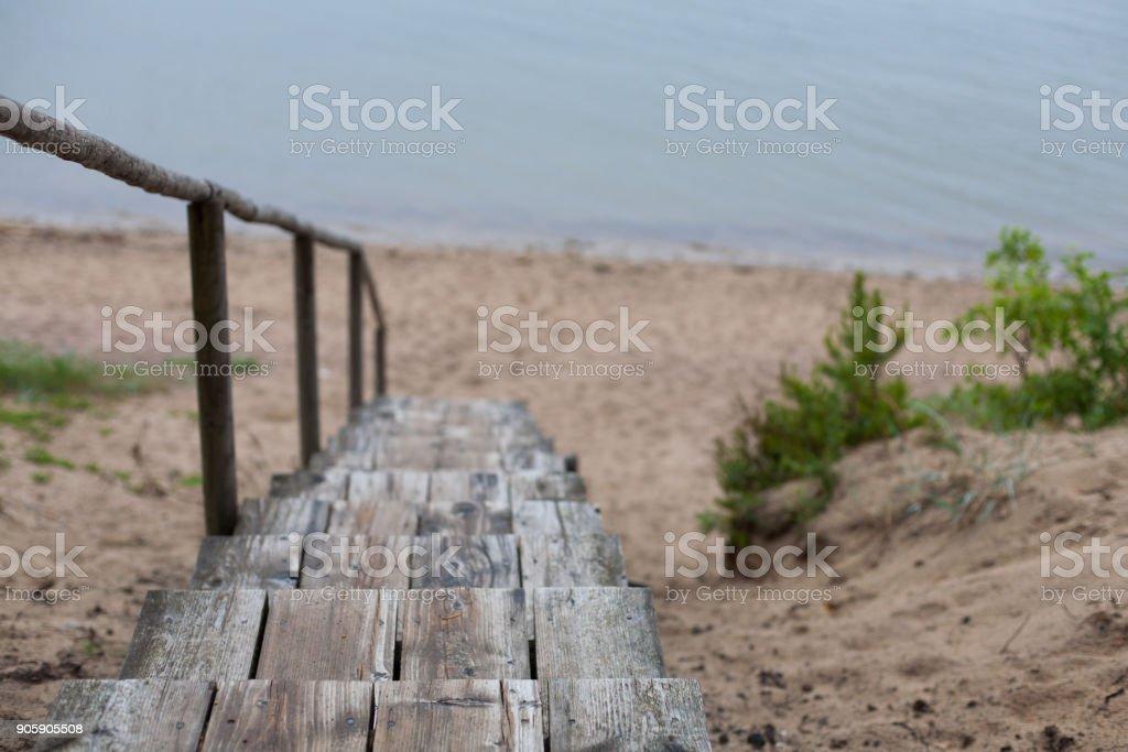 Wooden Treppe  – Foto