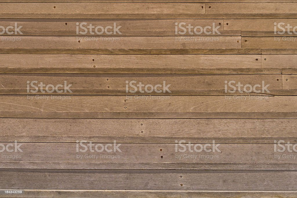 Wooden steps royalty-free stock photo