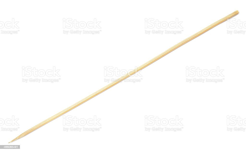 wooden stick stock photo