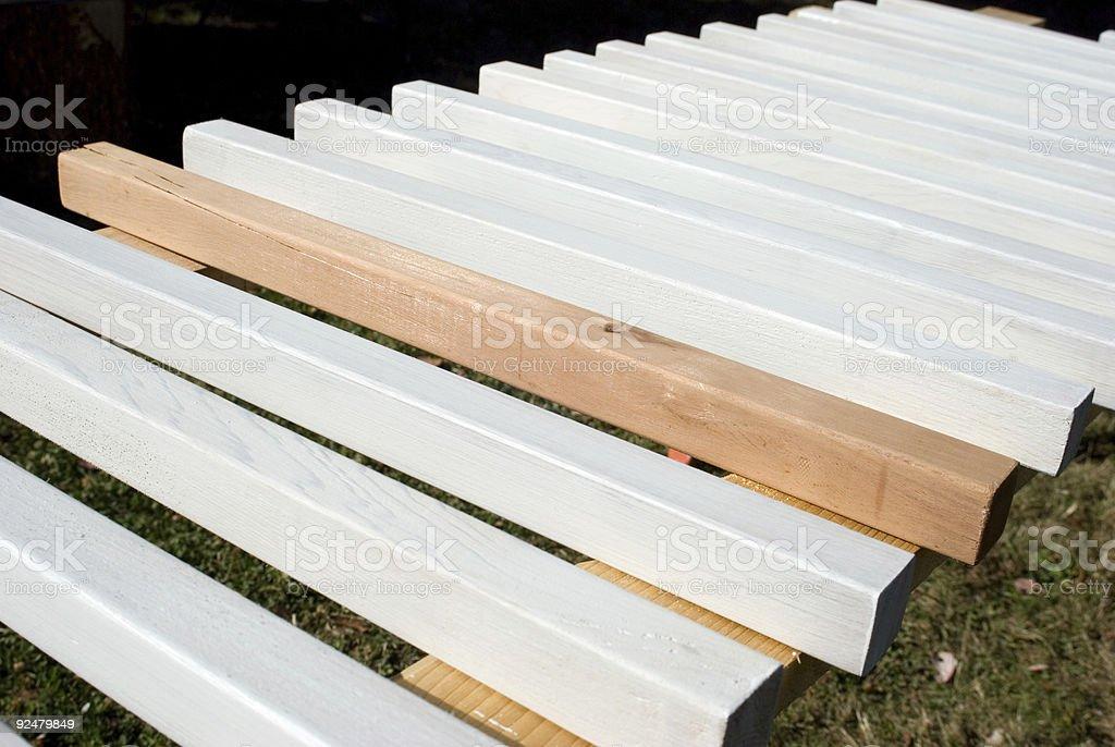 Wooden Sticks royalty-free stock photo