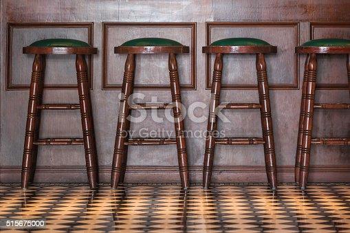 istock Wooden stools 515675000