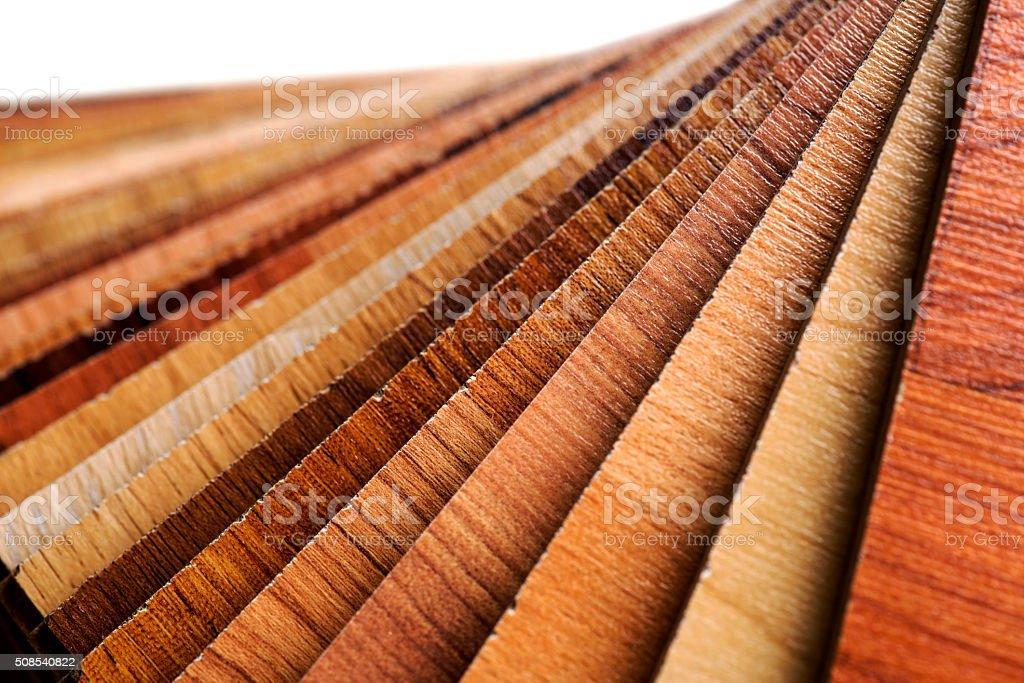 Wooden Swatch Laminate stock photo