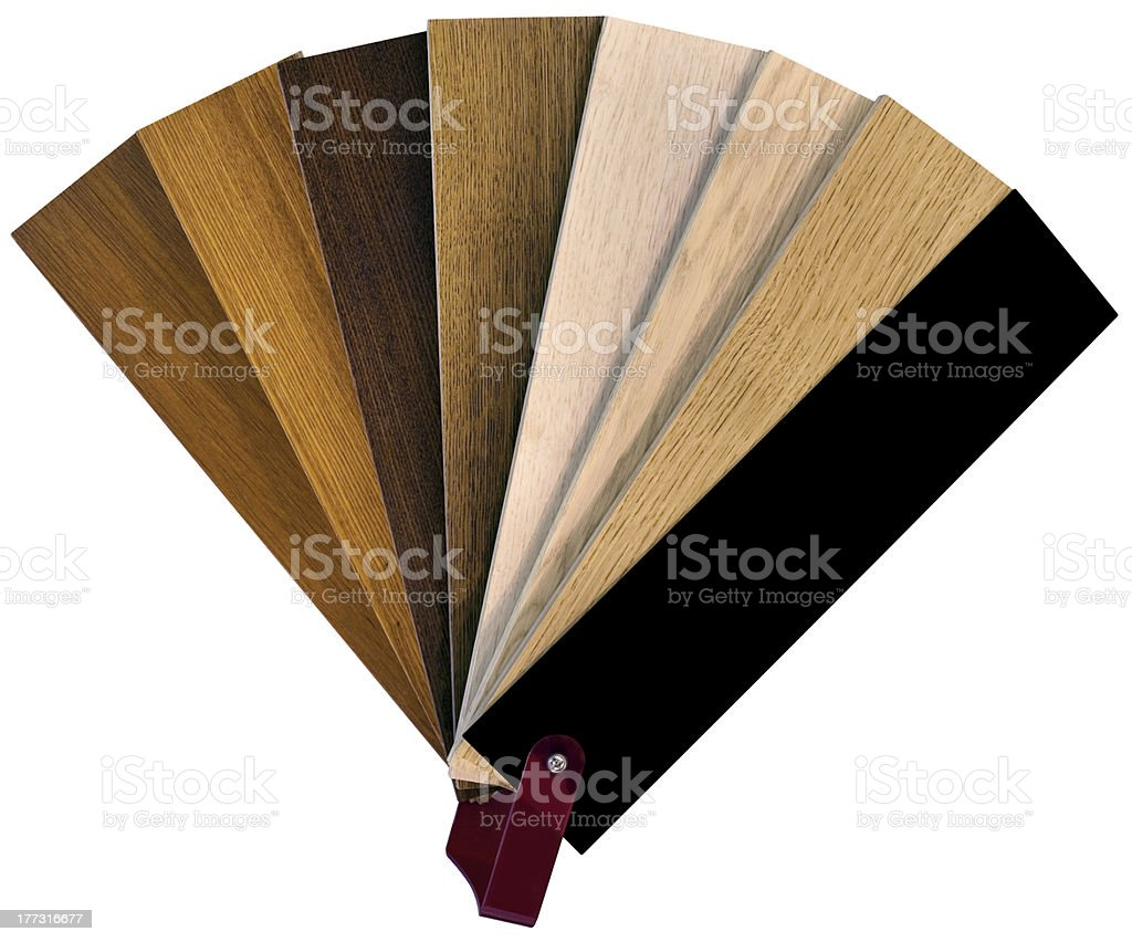 Wooden Swatch royalty-free stock photo