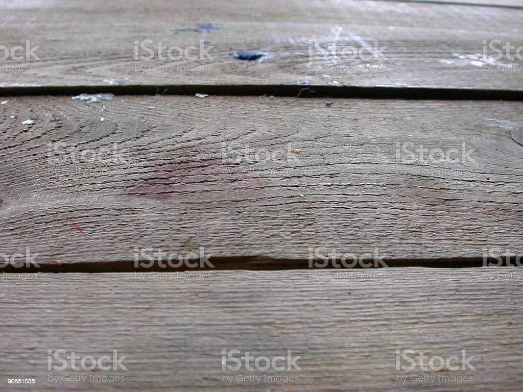 wooden table 2 stock photo