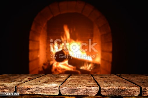 874991150istockphoto Wooden table background 874991150