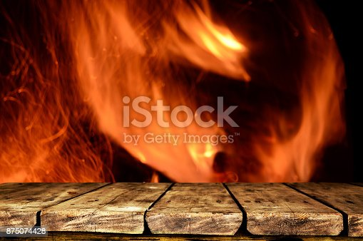 874991150istockphoto Wooden table background 875074428