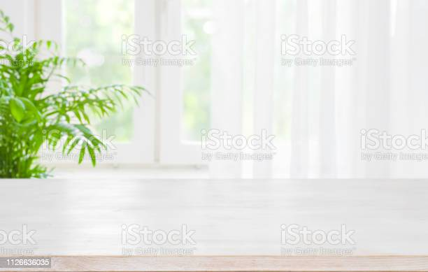 Wooden table top on blurred background of half curtained window picture id1126636035?b=1&k=6&m=1126636035&s=612x612&h=xhs osqmrekkuml3ziacgxs54w8ujymcaxtwdypeqas=