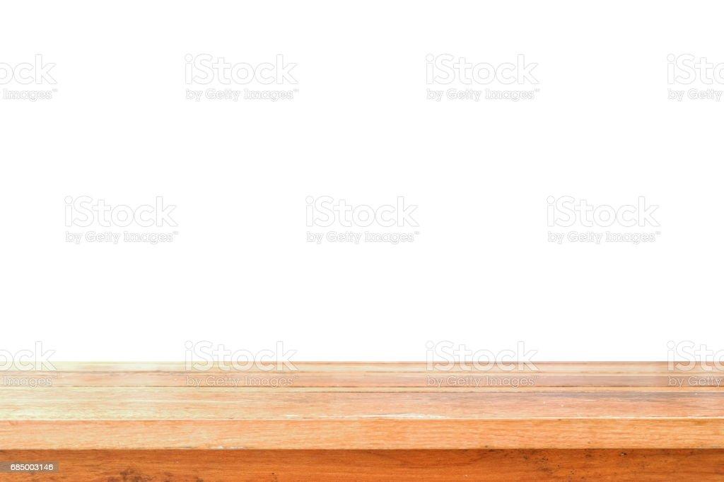 Wooden table top Lizenzfreies stock-foto