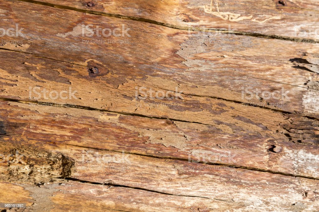 Wooden Table Top Texture royalty-free stock photo