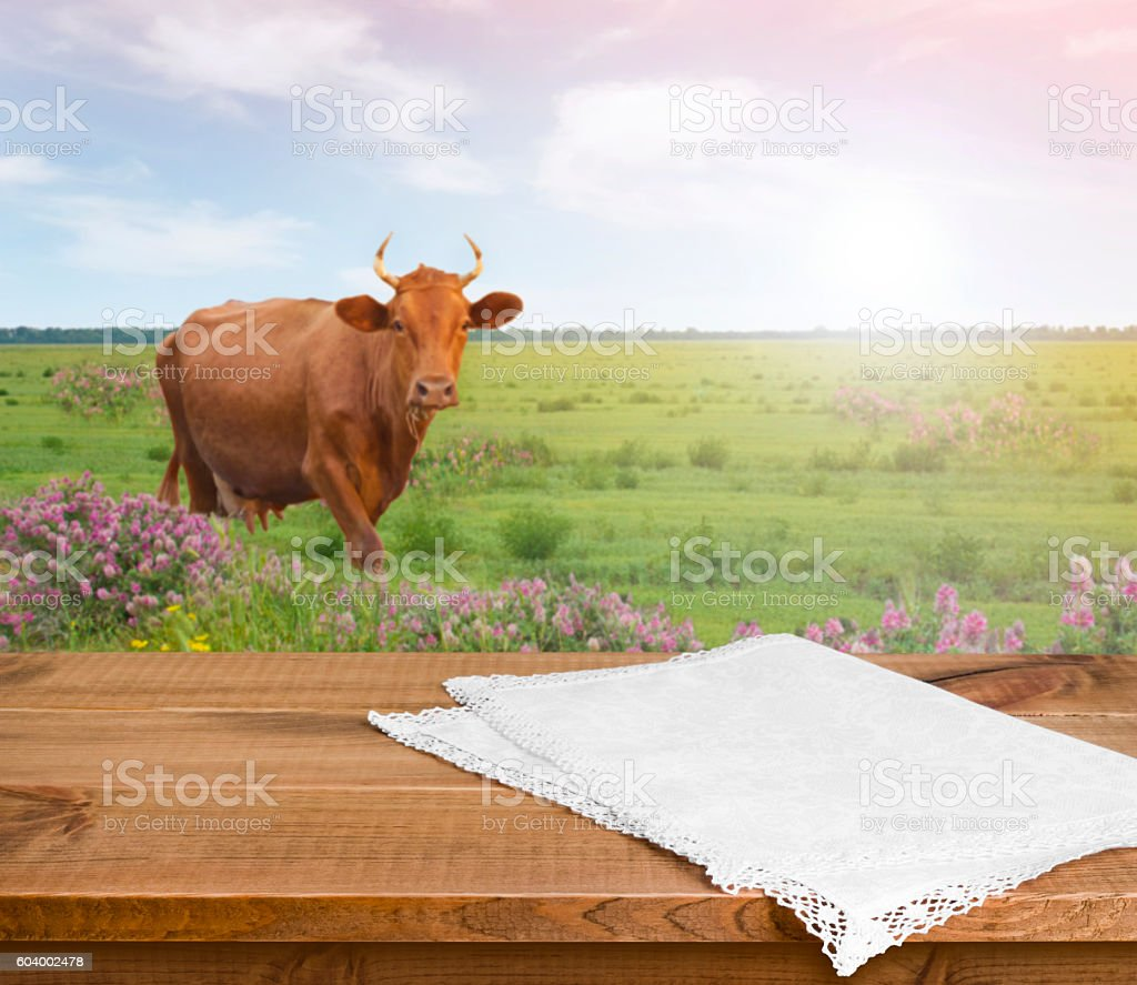 Dairy Farm Desk Domestic Cattle Field