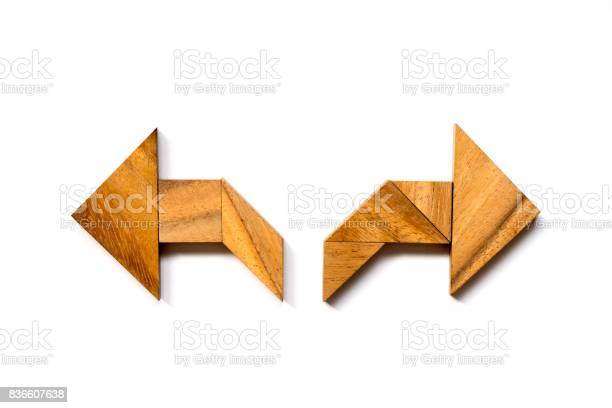 Wooden tangram puzzle in directioinal arrow shape on white background picture id836607638?b=1&k=6&m=836607638&s=612x612&h=lt4yp6tujhf1eyyoffsnfok6judtipdchs9qefcwa 4=