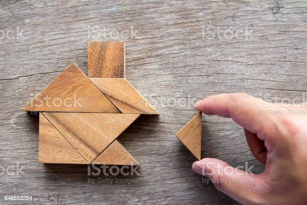 Wooden tangram puzzle wait to fulfill home shape for build dream home picture id646553254?b=1&k=6&m=646553254&s=612x612&h=yvdy lgly0riejysapdn 1jxcm77yqpqhao4oixk9 8=