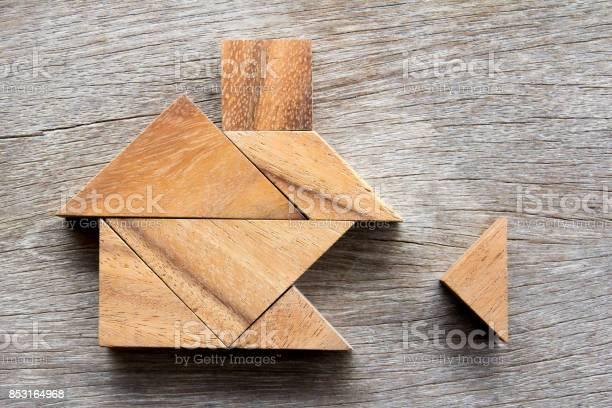 Wooden tangram puzzle wait to fulfill home shape for build dream home picture id853164968?b=1&k=6&m=853164968&s=612x612&h=k4jeetxzsxjq0l5usxqo5jxv3svrp7mxxbdcjvoo558=