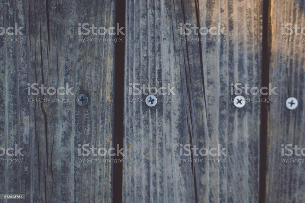 Wooden Texture and nail photo libre de droits