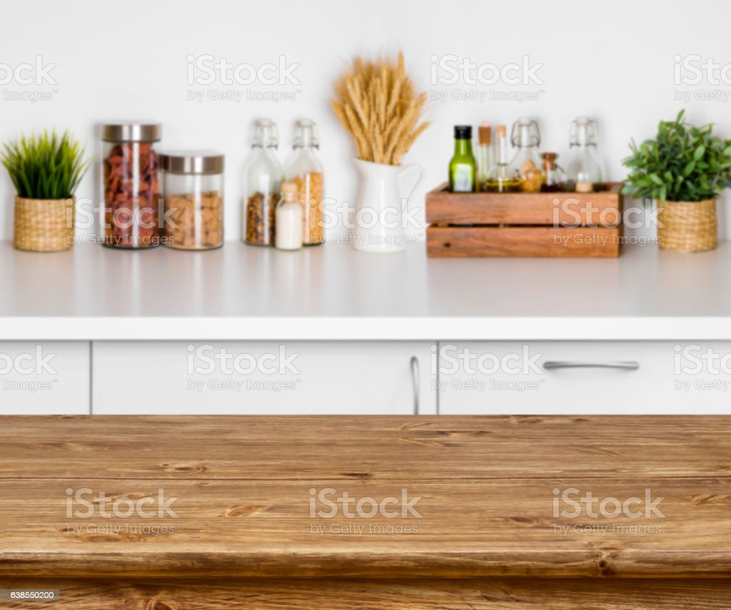Excellent Wooden Texture Table With Bokeh Image Of Kitchen Bench Interior Stockfoto Und Mehr Bilder Von Arbeitsplatte Lamtechconsult Wood Chair Design Ideas Lamtechconsultcom