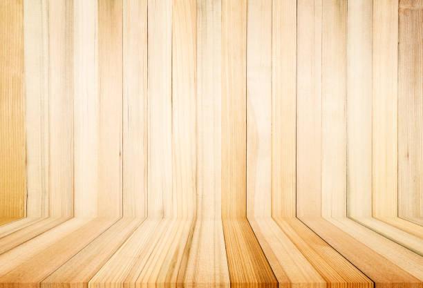 Holztextur mit natürlichem Musterhintergrund – Foto