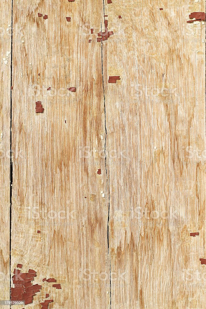 wooden texture with peeled paint royalty-free stock photo