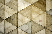 istock Wooden tile wall 1175763742