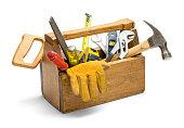 istock Wooden Tool Box 902084064