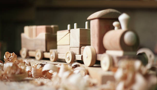 Wooden toy Wooden toy carving craft product stock pictures, royalty-free photos & images