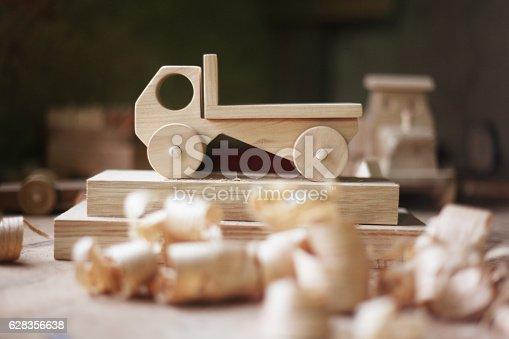 184659330 istock photo Wooden toy 628356638
