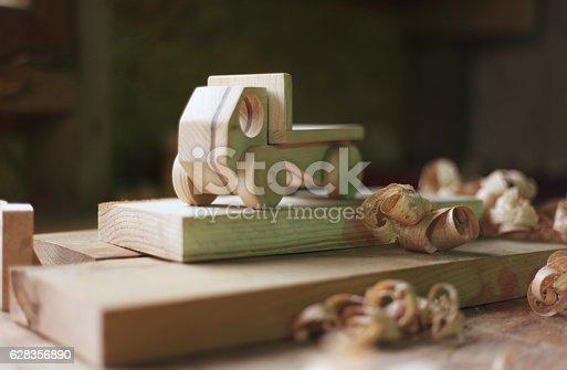 184659330 istock photo Wooden toy 628356890