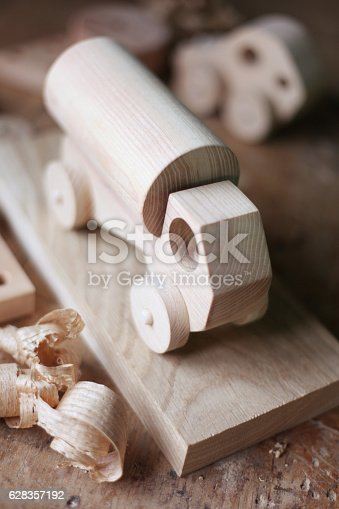 184659330 istock photo Wooden toy 628357192