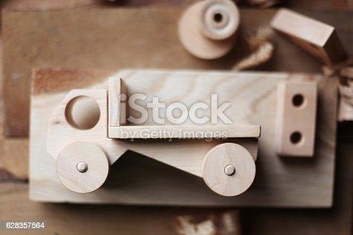 184659330 istock photo Wooden toy 628357564