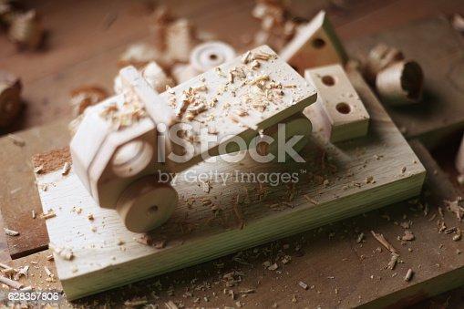 184659330 istock photo Wooden toy 628357806