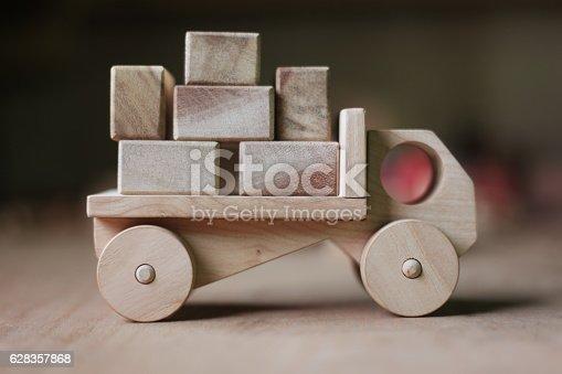 184659330 istock photo Wooden toy 628357868