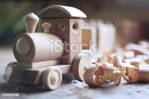 184659330 istock photo Wooden toy 628359296