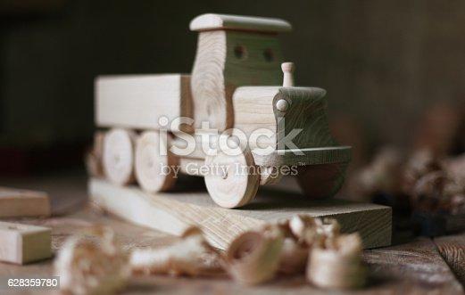 184659330 istock photo Wooden toy 628359780