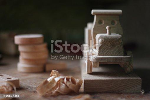 184659330 istock photo Wooden toy 628360054