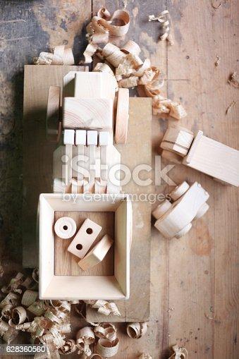 184659330 istock photo Wooden toy 628360560