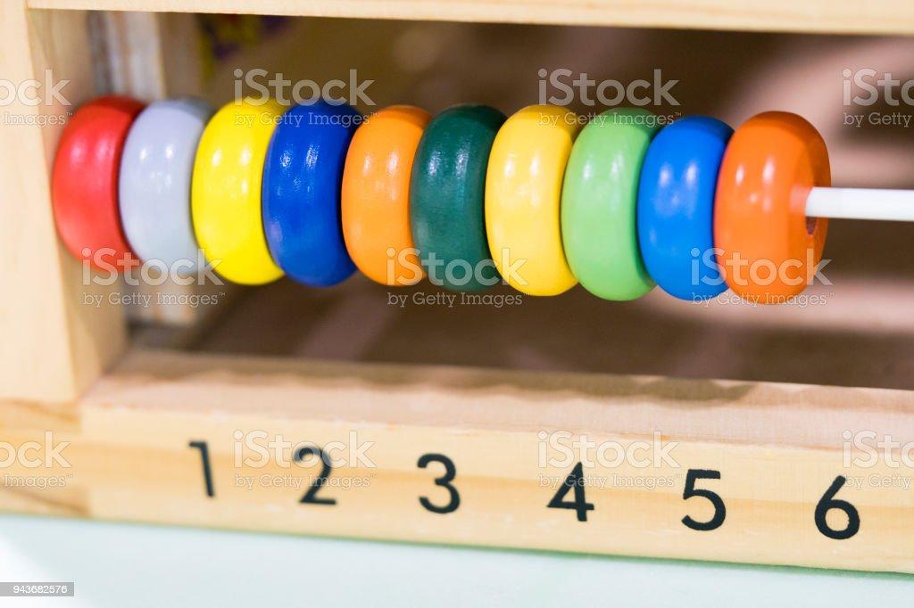 A Seis Colores Juguetes Madera De Uno Anillos Los Puntajes 35R4jqLA